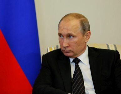 """Władimir Putin i saudyjski książę przybili """"piątkę"""". Nagranie obiegło..."""