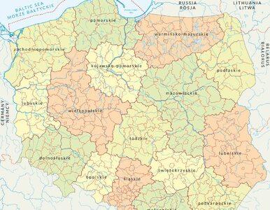 """Nowa lista stref """"czerwonych"""" i """"żółtych"""" w Polsce. W tych powiatach..."""