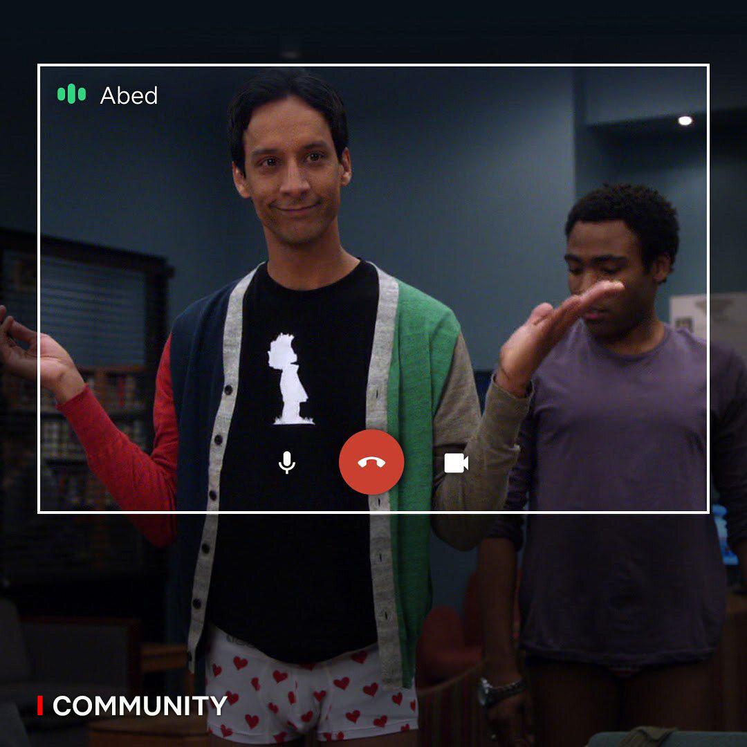 """Abed z """"Community"""""""