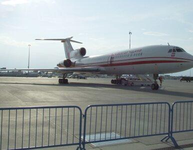 Tu-154 leciał bez danych lotniska