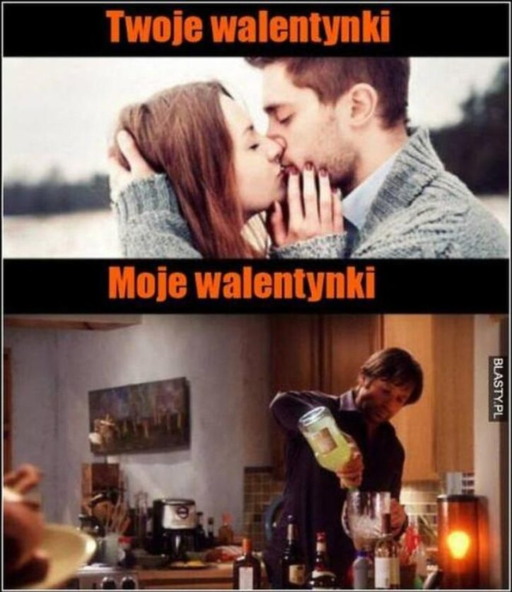 Mem na Walentynki