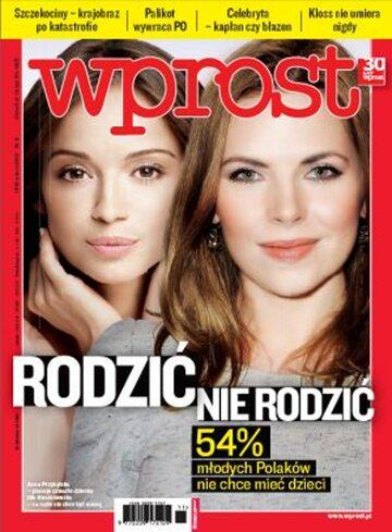 Okładka tygodnika Wprost nr 11/2012 (1517)