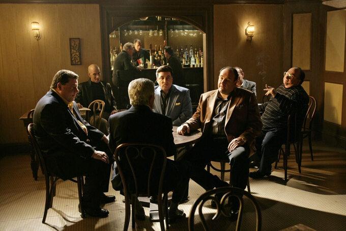 "Kadr zserialu ""Rodzina Soprano"" / ""The Sopranos"" (1999)"