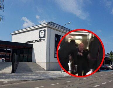 Wpadka podczas hucznego otwarcia dworca. Senator utknął w nowej windzie