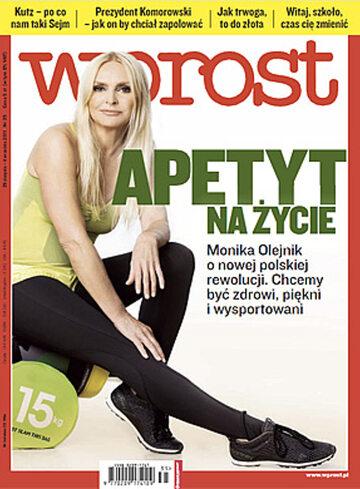 Okładka tygodnika WPROST: 35/2011