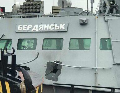 Rosjanie ostrzelali ukraińskie okręty. W sieci pojawiło się zdjęcie