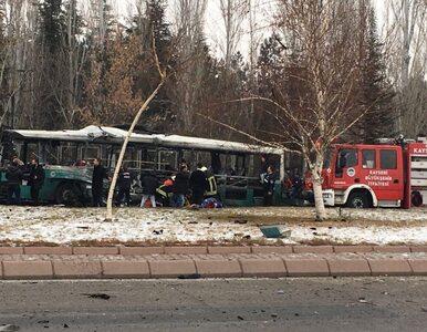 Eksplozja autobusu przewożącego żołnierzy. Są zabici