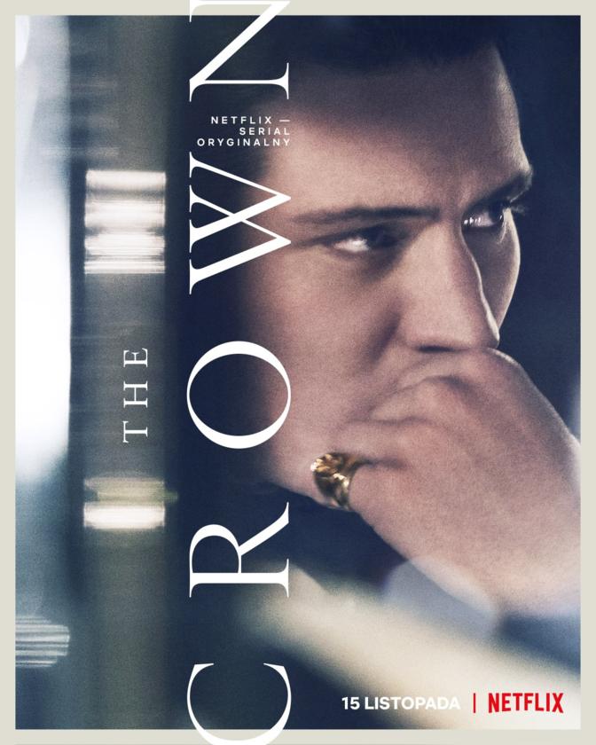 "Plakat z 4. sezonu serialu ""The Crown"""