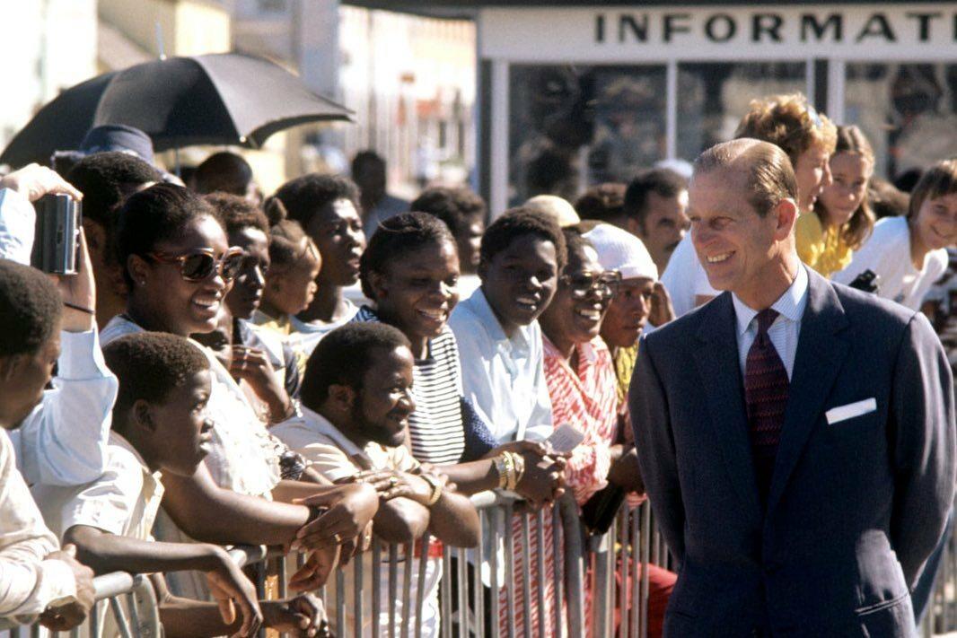 Książę Filip podczas zagranicznych podróży