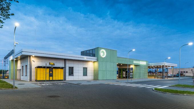 Zmodernizowany dworzec