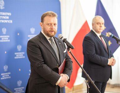 Szumowski skarcił dziennikarza: Bardzo mi przykro, że nie interesują...