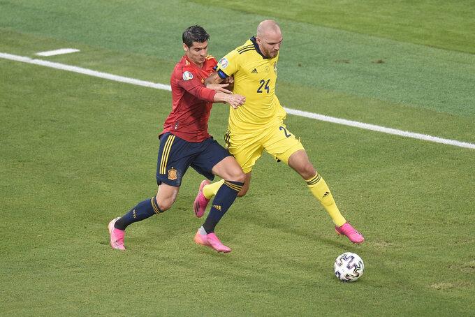 Alvaro Morata i Marcus Danielson