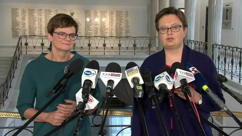 Krystyna Szumilas i Katarzyna Lubnauer