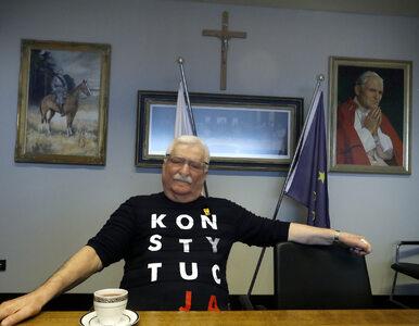 Lech Wałęsa wyszedł ze szpitala. Od razu rzucił się w wir spotkań