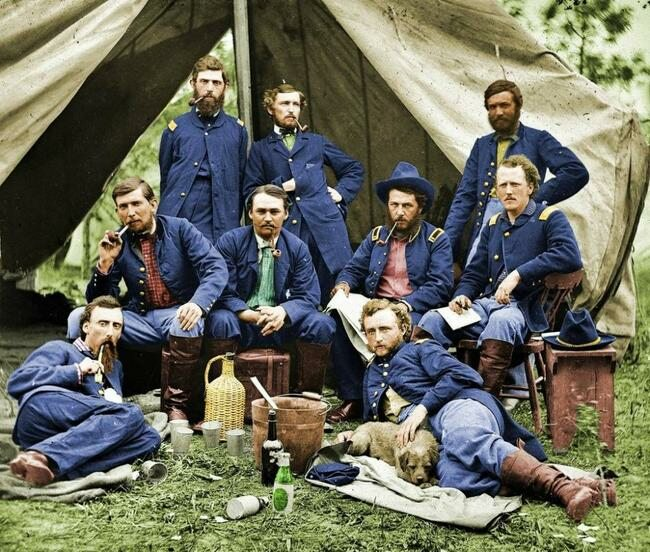 Żołnierze Unii, 1863