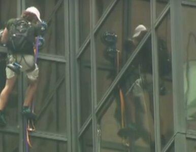 Chciał spotkać się z Trumpem. Wspinał się na 262-metrowy budynek