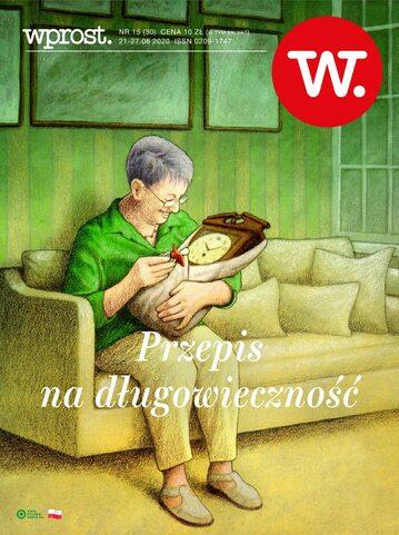 Okładka tygodnika Wprost nr 30/2020 (1946)