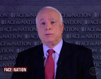 McCain: Putin chce odbudować rosyjskie imperium