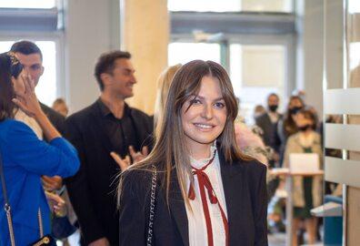 """Anna Lewandowska na premierze filmu """"Położna"""""""
