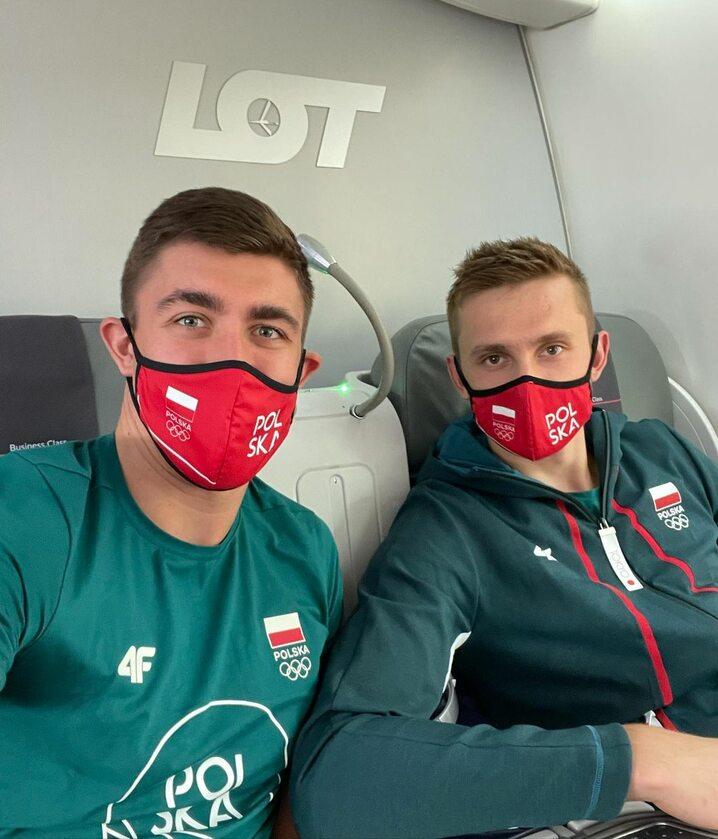 Łukasz Kaczmarek i Mateusz Bieniek