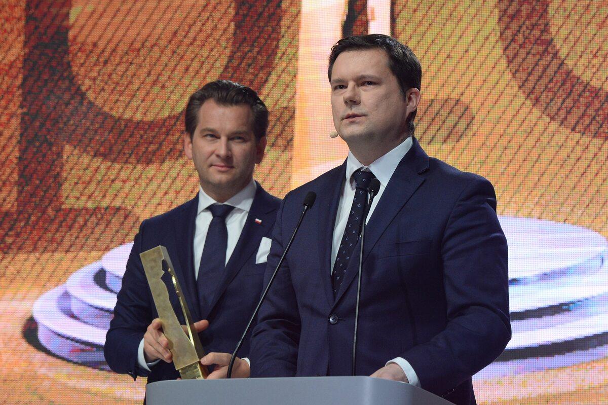 Michał M. Lisiecki i Jacek Pochłopień