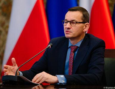 Morawiecki: Jedynym rozsądnym wyjściem jest przerwanie projektu Nord...