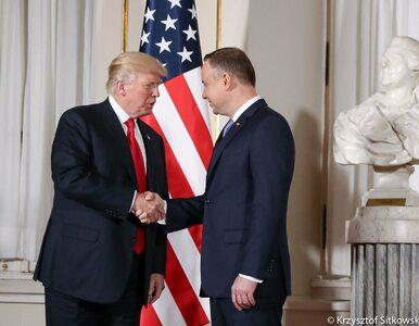 """Andrzej Duda rozmawiał z Donaldem Trumpem. """"Polska wysyła wojskową misję..."""