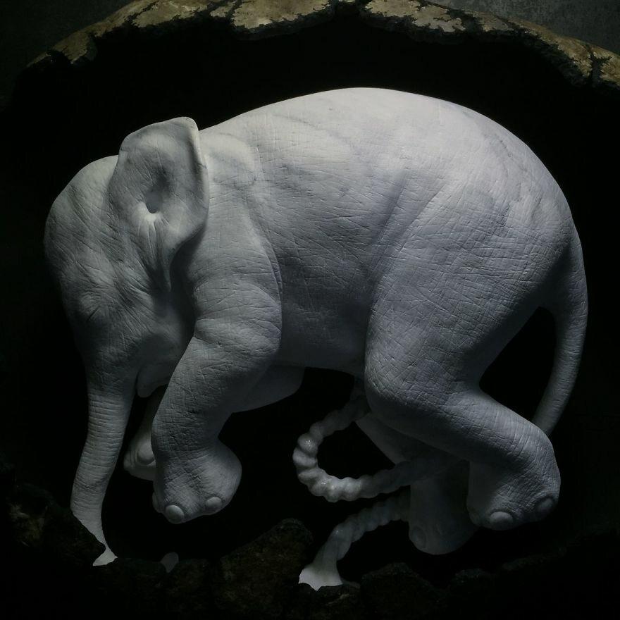 Rzeźba autorstwa Jago Jacopo Cardillo