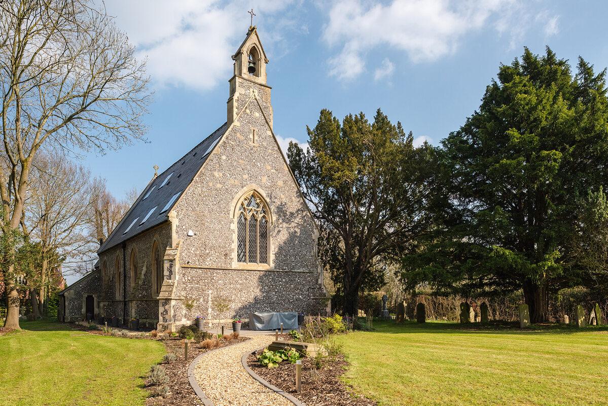 Były kościół przerobiony na dom