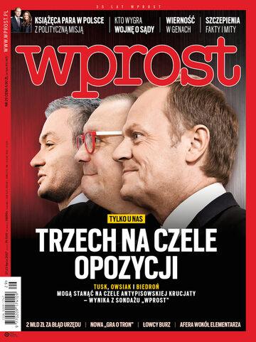 Okładka tygodnika Wprost nr 29/2017 (1795)