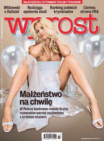 Okładka tygodnika Wprost nr 33/2014 (1641)