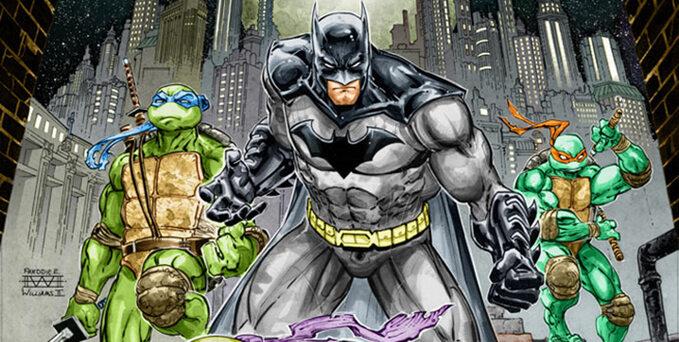 Comic-Con: Batman & Teenage Mutant Ninja Turtles
