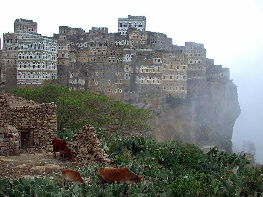 Hajarah, Jemen boredpanda.com