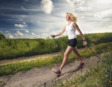 Nordic walking: poprawia wydolność oddechową i odciąża kręgosłup