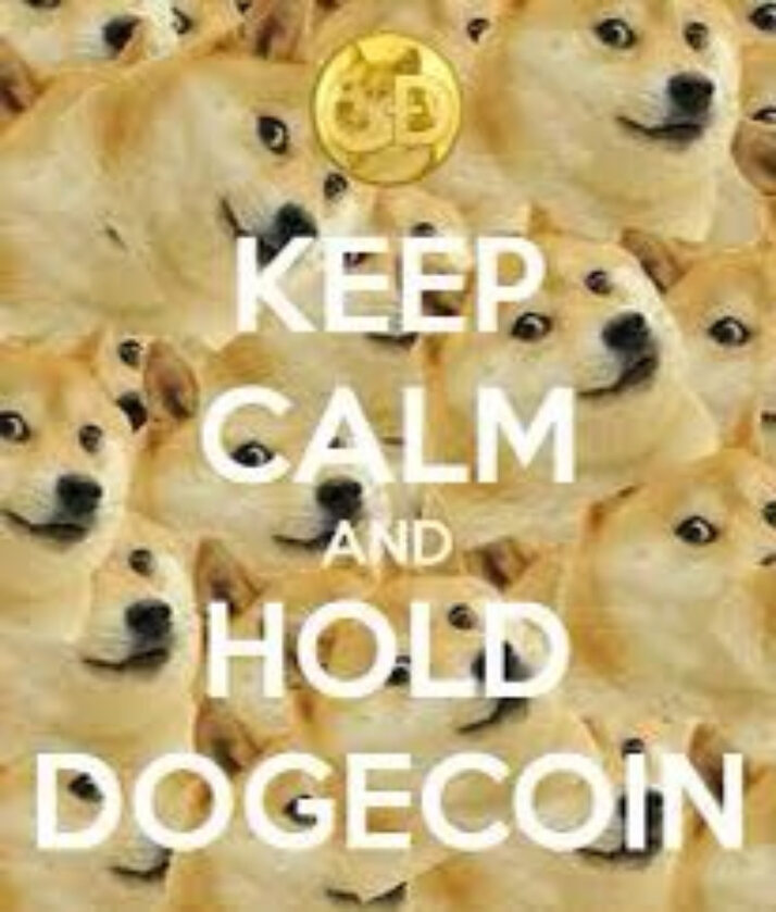 Mem podsumowujący zamieszanie z Dogecoin