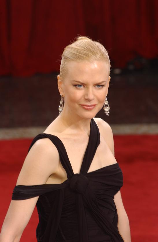 Nicole Kidman podczas 75. ceremonii rozdania Oscarów w 2003 roku