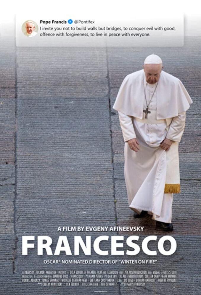 "Plakat zfilmu ""Francesco"" (2020)"