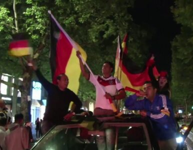 """Niemcy w euforii. """"Czekałem 24 lata"""""""