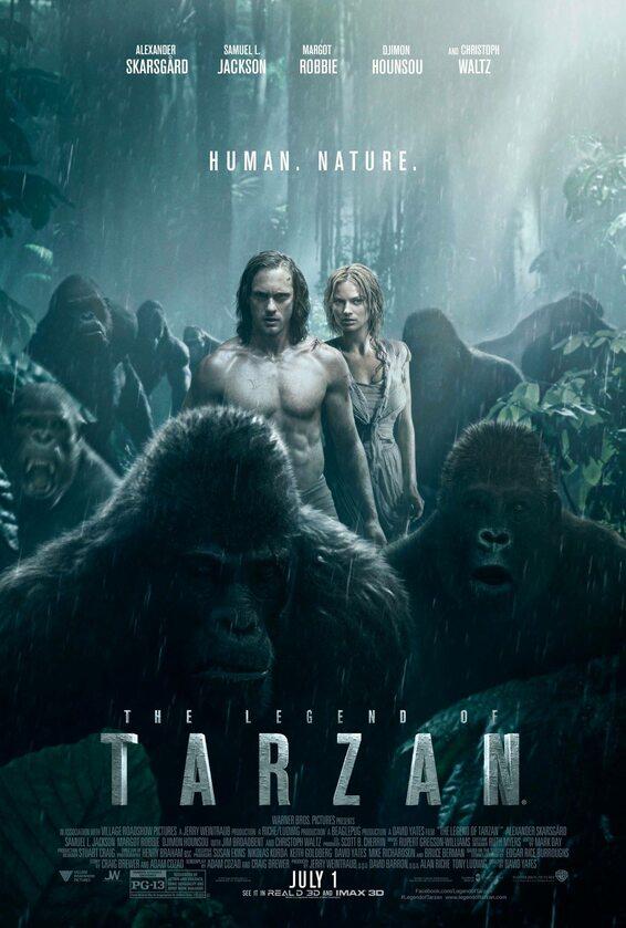 """Tarzan: Legenda"" – plakat ""Tarzan: Legenda"" – plakat"