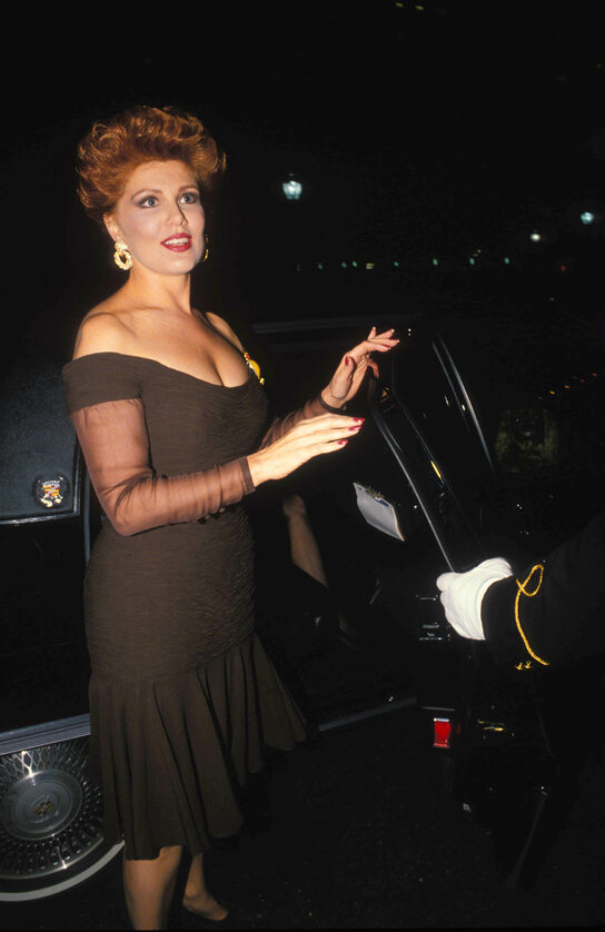 Georgette Mosbacher w 1990 roku