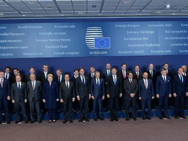 Przyszłość Unii Europejskiej zdecyduje się w Bratysławie? Szydło: UE...