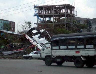W Birmie mogło zginąć 100 tys. ludzi