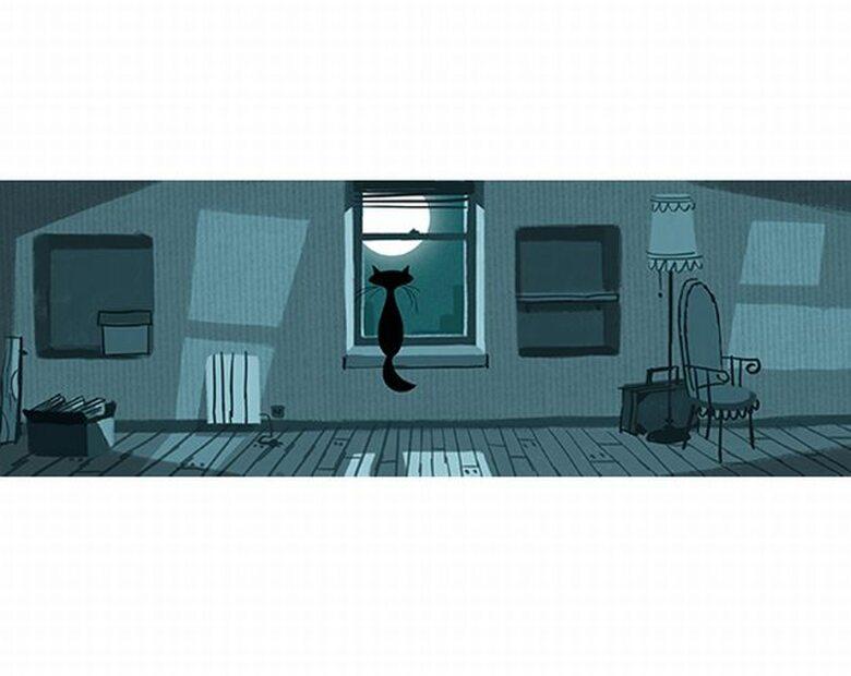 Kot w pustym pokoju na 90. urodziny Wisławy Szymborskiej