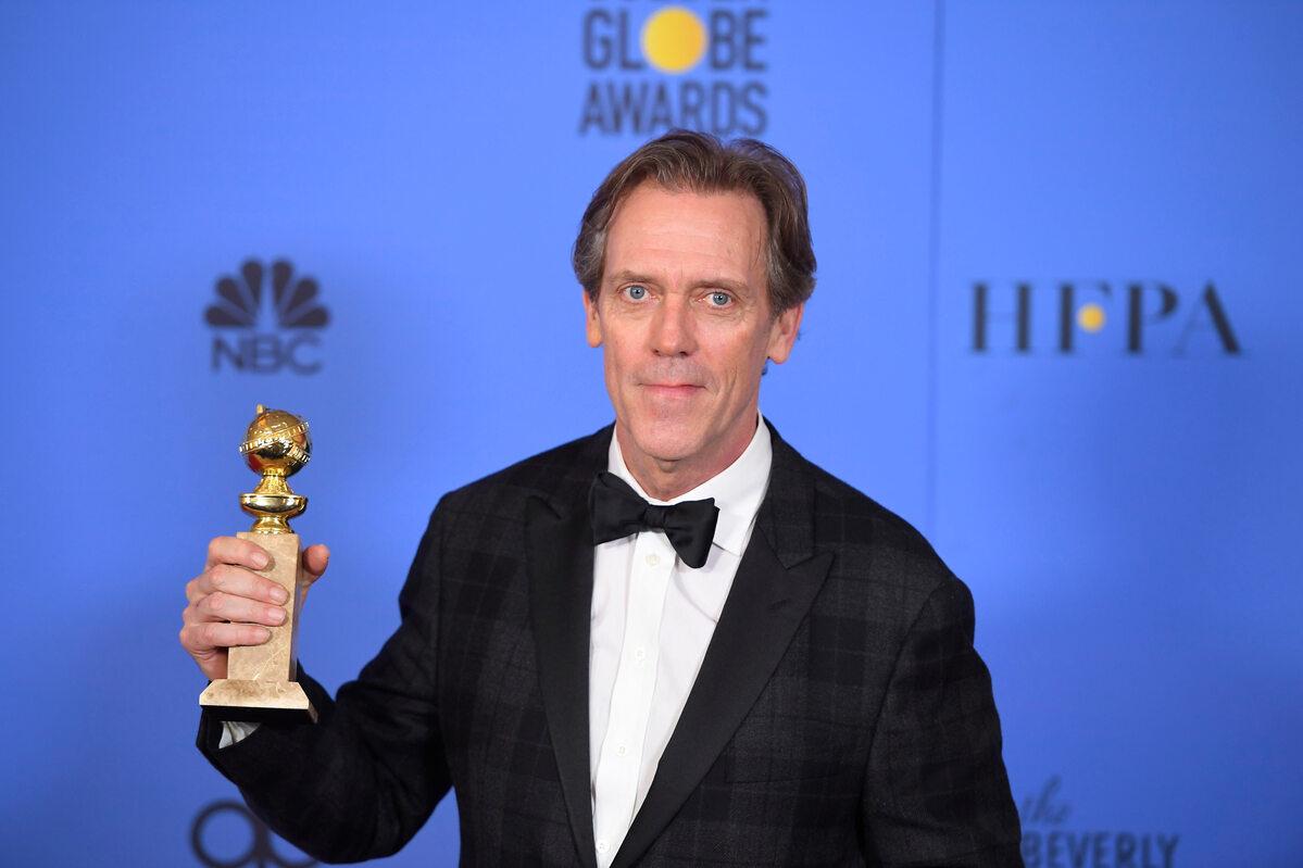 Hugh Laurie w 2017 roku