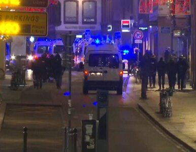 Strzelanina w Strasburgu, trwa pościg za napastnikiem. Dwie osoby nie...