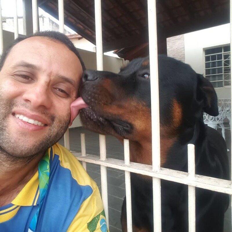 Cristiano da Silva Antunes w pracy