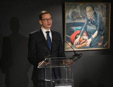 """Mocne słowa premiera Morawieckiego. """"Auschwitz-Birkenau to nie polska..."""