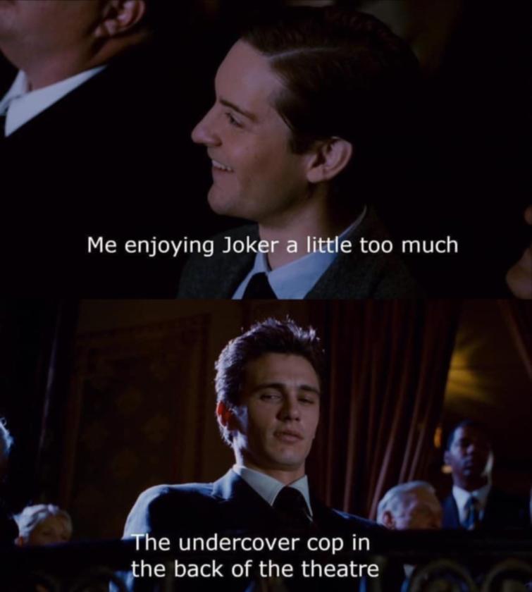 "Mem zainspirowany filmem ""Joker"""