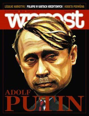 Okładka tygodnika Wprost nr 34/2008 (1339)