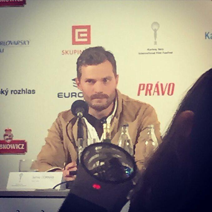 Karlove Vary -Jamie Dornan (fot. Małgorzata Czop)